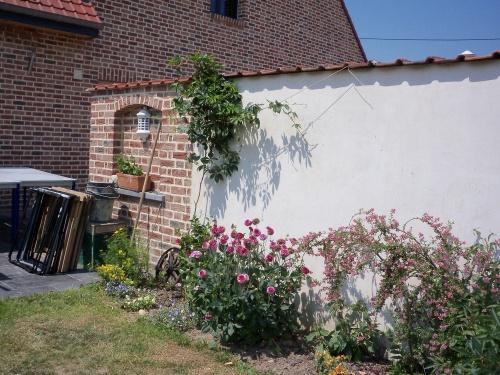 Un beau jardin, celui de mon amie Maria à Bondues