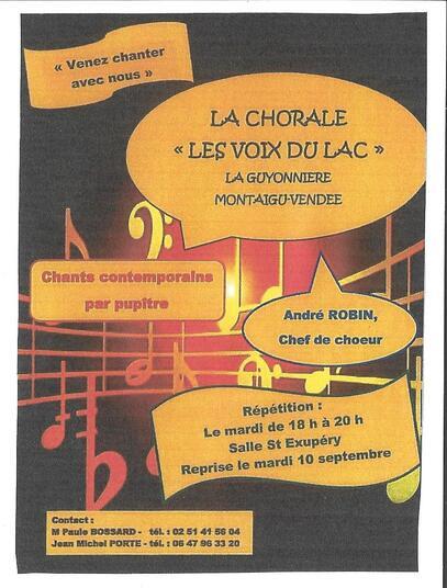 """""""Les Voix du Lac"""""""