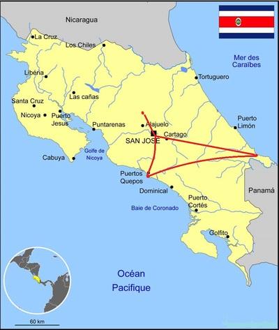 Voyage d'Annie S. au Costa Rica