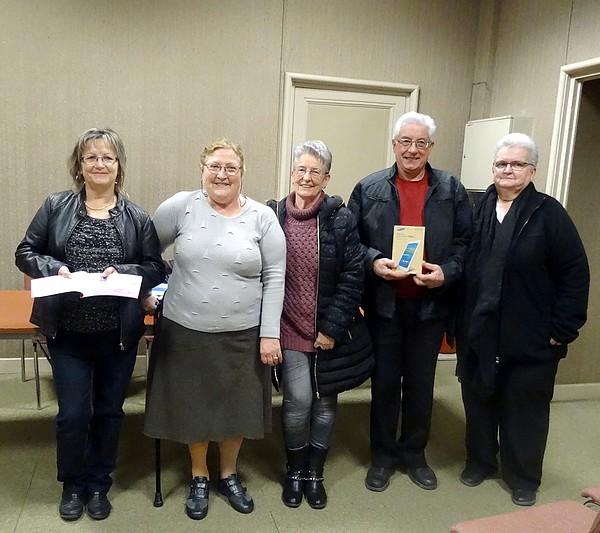 Les gagnantes du grand jeu de Noël des Vitrines Châtillonnaises ont reçu leurs prix.