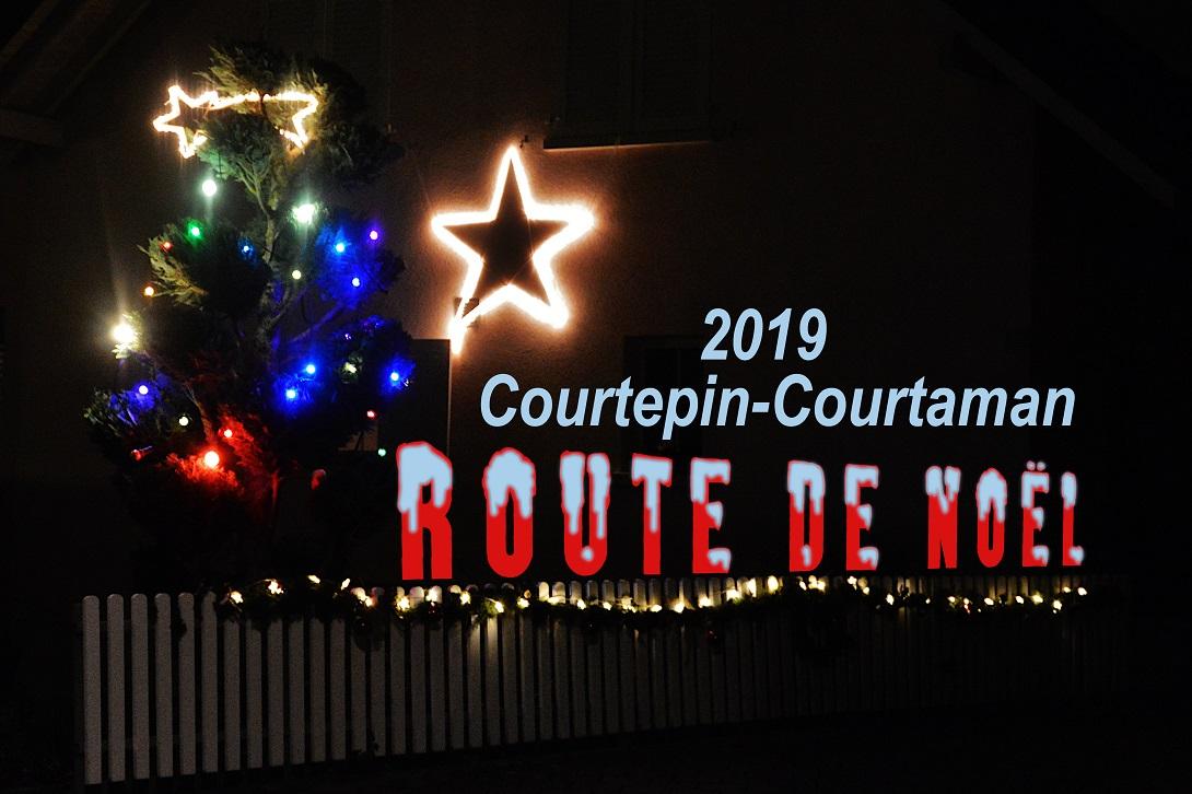 La Route de Noël décembre 2019 à Courtepin-Courtaman