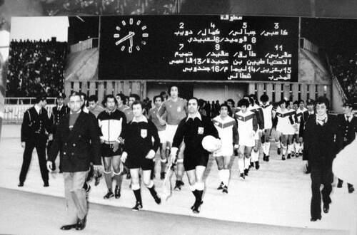 DRAOUI Aissa contre la Tunisie en 1977