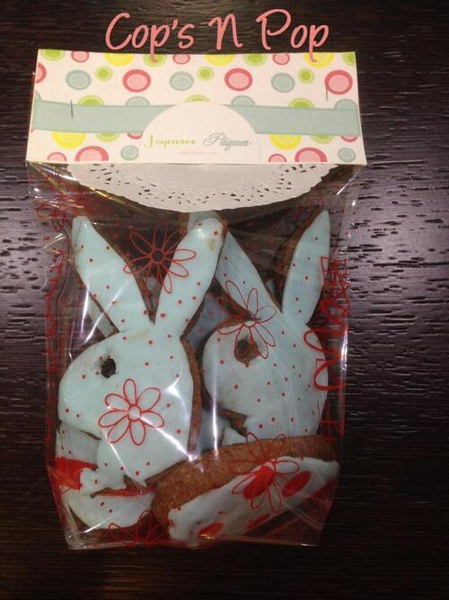 Sablés lapin playboy pour Pâques