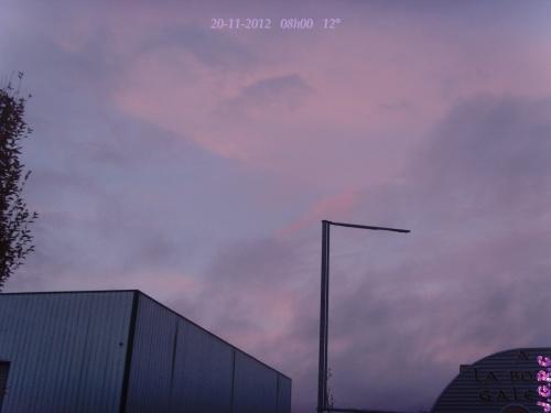 TEMPS DU JOUR  20/11/2012