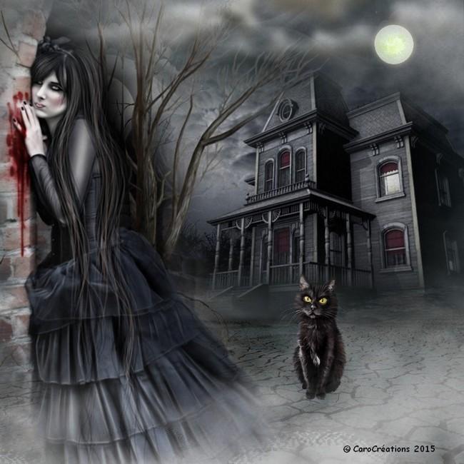 seule dans la nuit