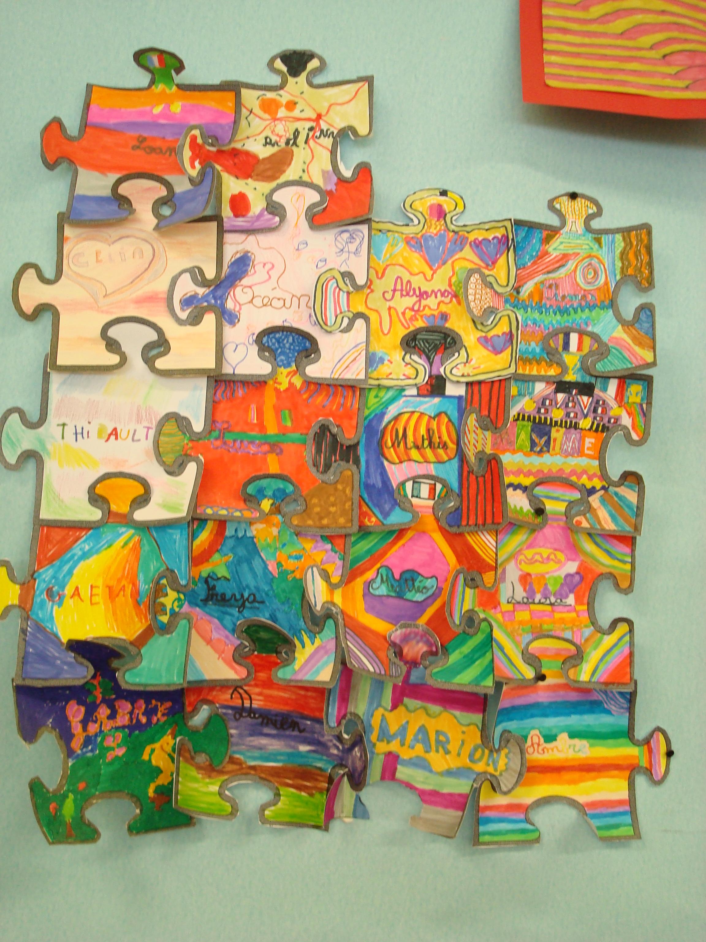 Arts visuels laeti7331 for Decoration porte cycle 3
