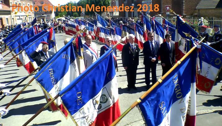 A une cérémonie patriotique