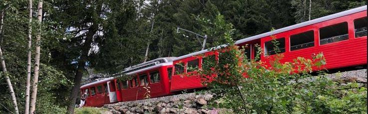 Le train à crémaillère