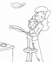 Coucou du haïku : Faites sauter les crêpes