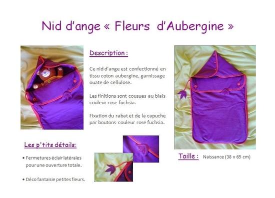 nid d'ange (fleurs d'aubergine) 3