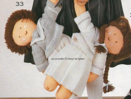 Poupées tricot