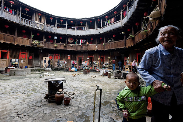 Traditional Chinese Fujian Tulou House
