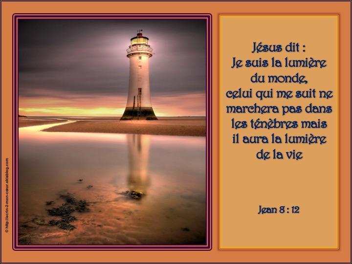 Jésus, la lumière du monde - Jean 8 : 12