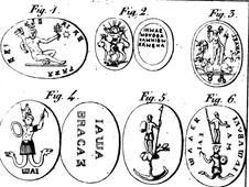 Amulettes gnostiques