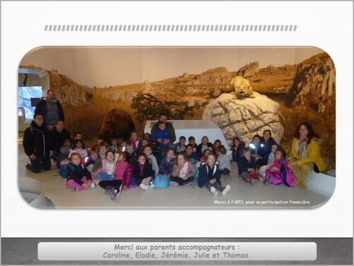 Visite de la grotte CHAUVET 2