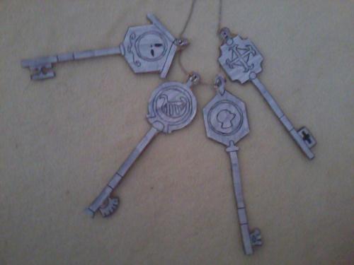 Comment créer les clés célestes de Lucy de Fairy Tail ?