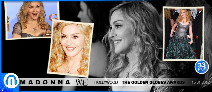 Madonna @ The Golden Globes Awards 2012