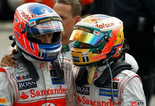 GP Allemagne : Qualifications - Button 7°, Hamilton 8°