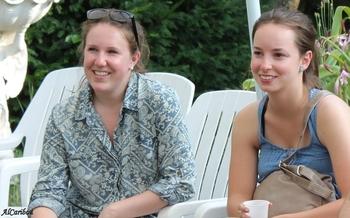Camille et Sanya