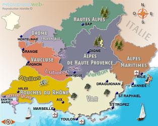 Provence Web - Tourisme en Provence - La Provence
