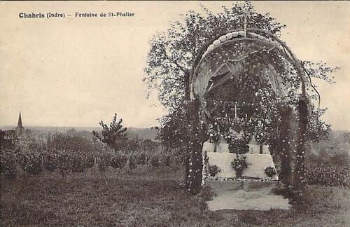 Chabris, église Saint Phallier