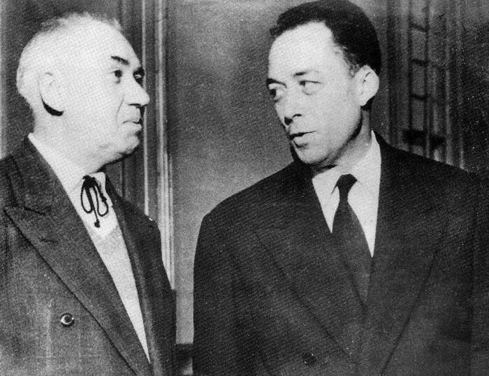 """Né le 7 novembre 1913, nous fêtons l'anniversaire d'Albert Camus *** En ce moment ses livres cartonnent notamment """"La Peste"""""""