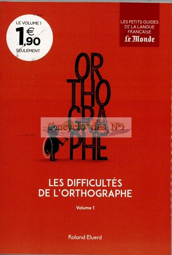 N° 1 Les petits guides de la langue française - Lancement