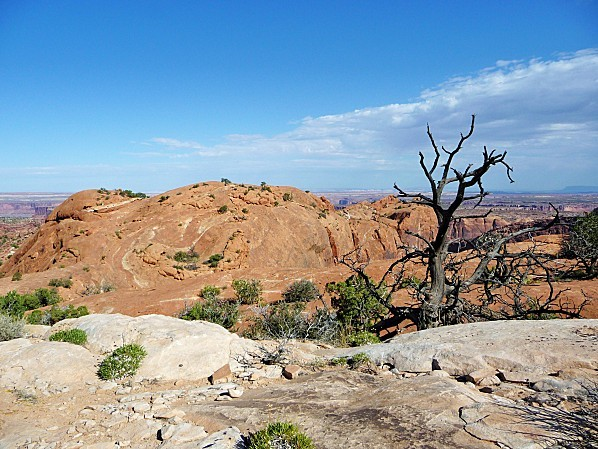 Jour 6 Canyonlands Upheaval Dome Trail
