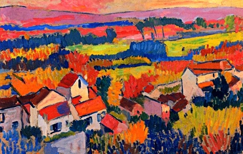 Derain 2 /  1904-les paysages de Chatou