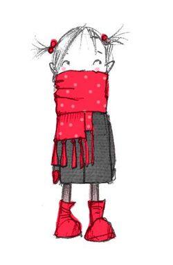 Le petit manteau rouge.