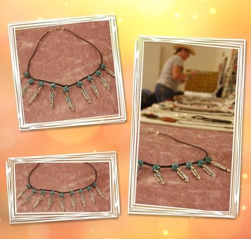 Exposition de mes bijoux country au bal de Chanceaux-sur-Choisille