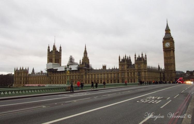 Londres : Palais et Westminster