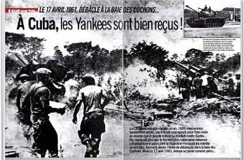 17 avril 1961 : Débarquement dans la Baie des Cochons