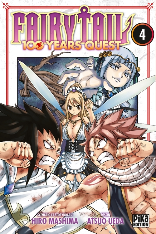 Fairy tail 100 years quest - Tome 04 - Hiro Mashima & Atsuo Ueda