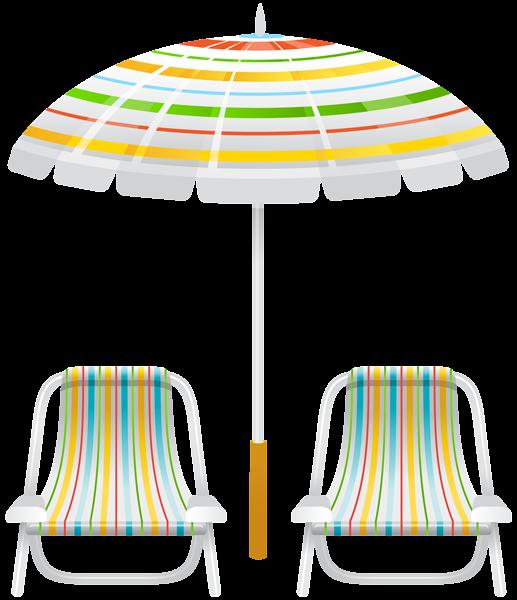 Tubes Transats et parasols Tableau 01