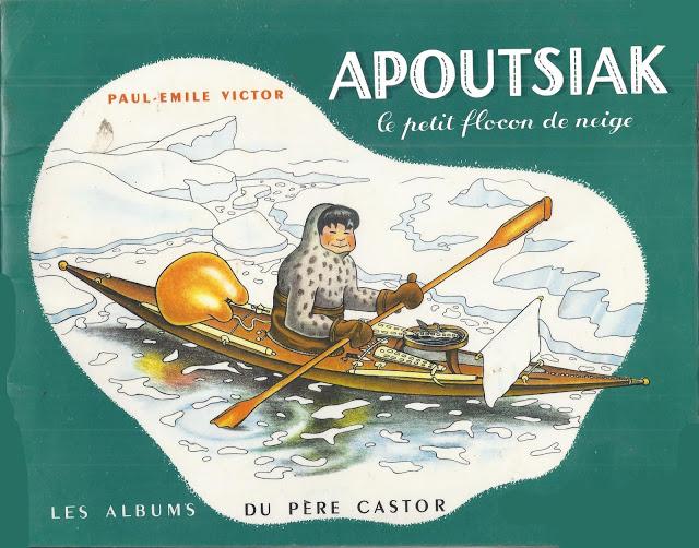 Paul-Émile Victor, Apoutsiak, le petit flocon de neige (1948)