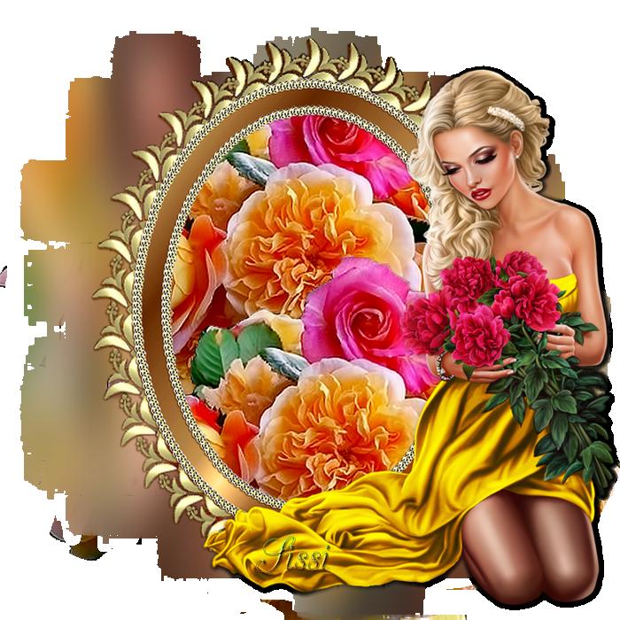* Mes cadres Fleurs *