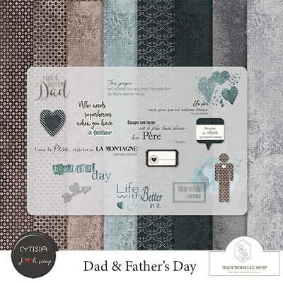 """Dad & Father's day"" chez Mademoiselle Shop"