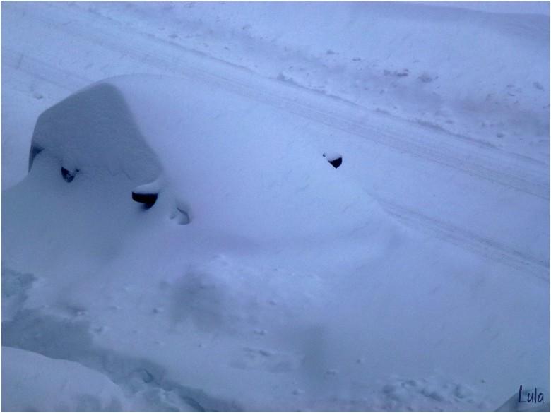 Tempête de neige ce 27 décembre 2012