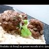 boulettes garam masala