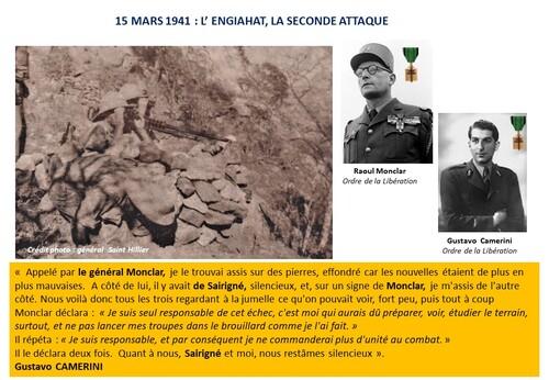 * 80e Anniversaire de la Campagne d'Erythrée (février-avril 1941) - 5 - La Légion perce le verrou de Kéren