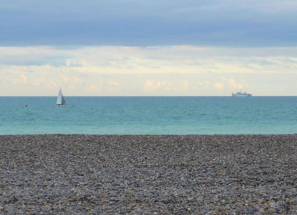 Entre Mers les Bains et Pourville