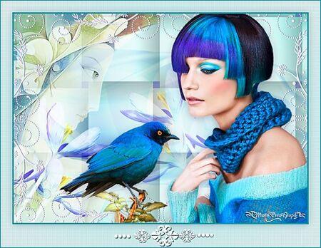 Blue Hair Day