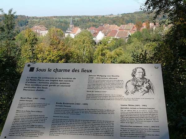 Le château de la Petite Pierre (Bas-Rhin)