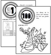 Les 100 jours de Chou, numération, problème, Cp, dixmois