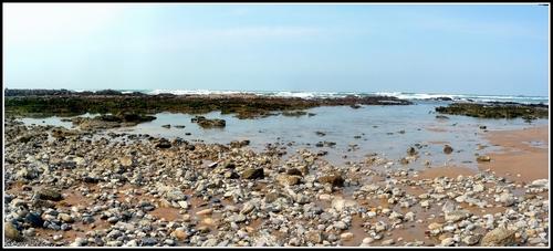 Grande vue sur la plage et Biarritz