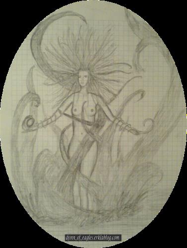 La déesse des eaux