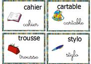 vocabulaire - autour de l'école
