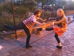 choregraphie PASSION de Maggie Boogaart dans film de Melanie Manchot, NUIT BLANCHE 2011 a Paris !