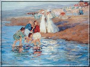 Etaples - La Canche,le port,la pêche,la ville et ses peintres.